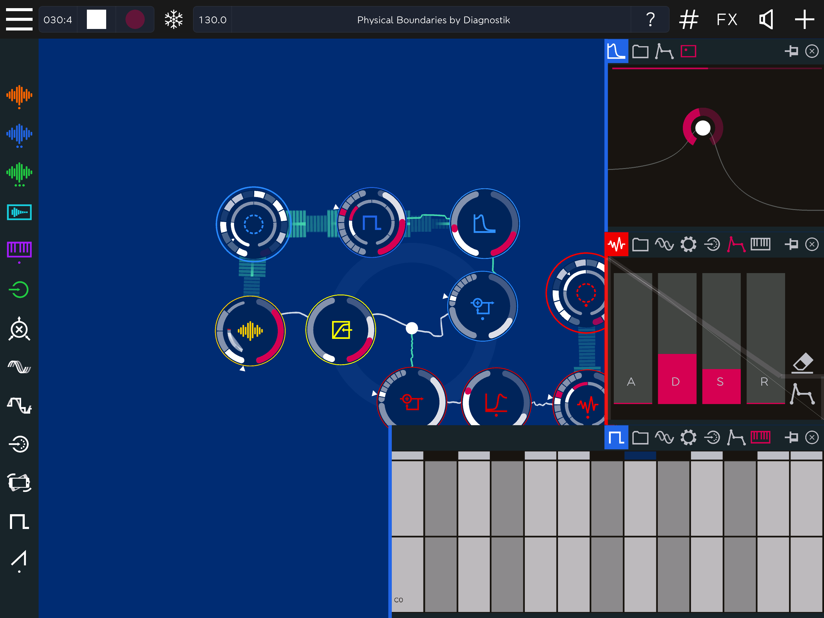 ROTOR music app for iPad by Reactable  Tech SpecsMusic